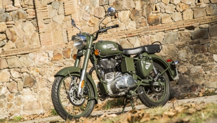 Royal Enfield Classic Battle Green: prueba