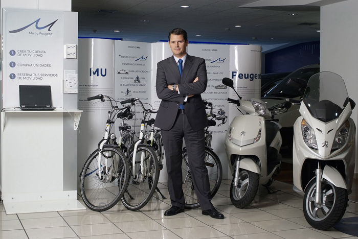 Borja Sekulits, Director General de Peugeot Scooters España