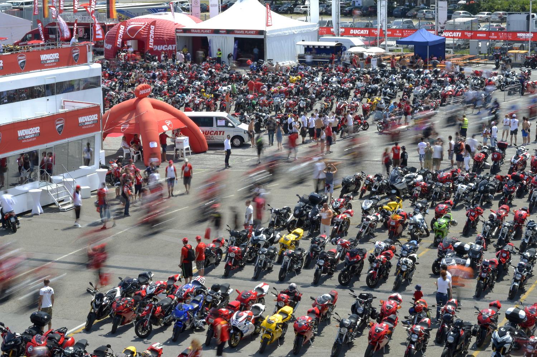 Todo a punto para el World Ducati Week 2014