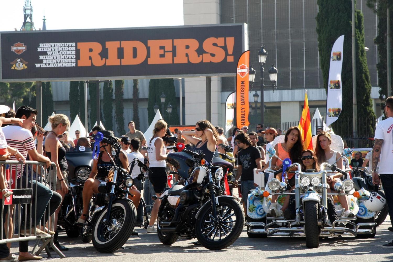 El Barcelona Harley Days, del 4 al 6 de julio en el recinto ferial de Montjuïc