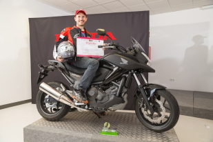Roger Perejoan, Motorista del Año Honda 2014
