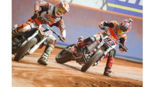 Habrá revancha entre Márquez y Baker en el Superprestigio Dirt Track de Barcelona