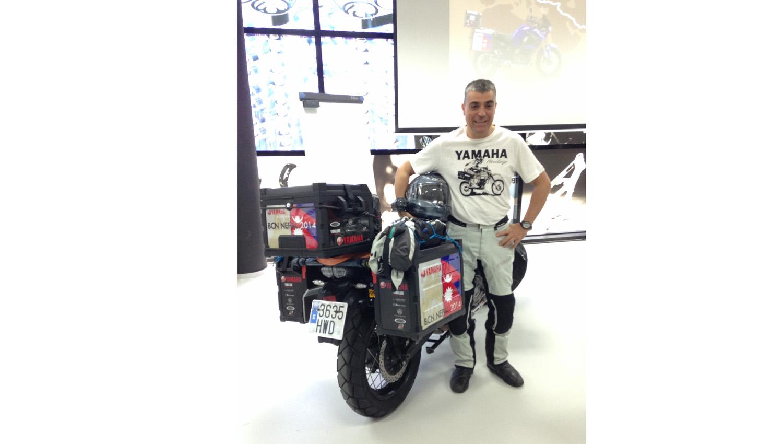 Yamaha Motor España presenta la Aventura Super Téneré 2014