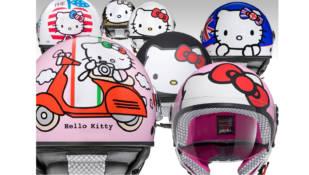 Axo lanza la colección de cascos Hello Kitty para las reinas de la casa