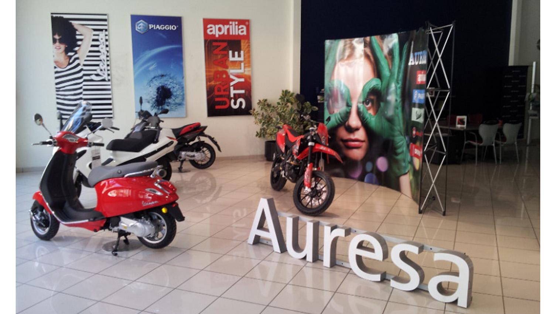 Auresa, el nuevo concesionario de Grupo Piaggio en Castellón