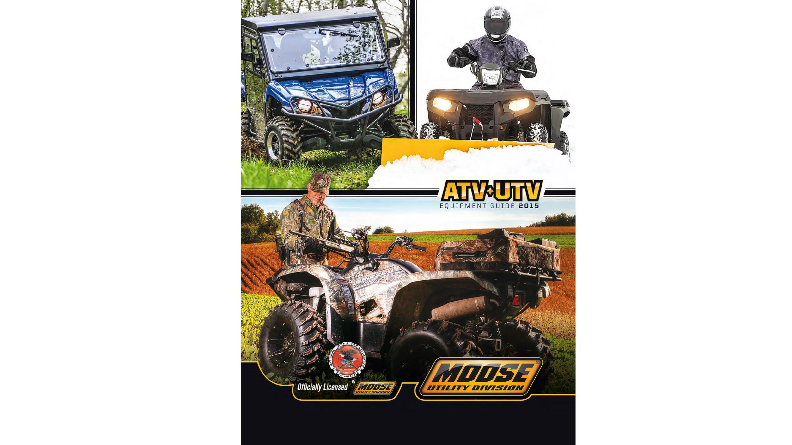 Parts Europe lanza dos nuevos catálogos, el Moose Racing 2015 y el de equipamiento de ATV/UTV 2015 Moose Utility Division