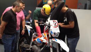 Cinco concesionarios KTM reciben un curso de Alta Tensión para vender y reparar con garantías la nueva Freeride E