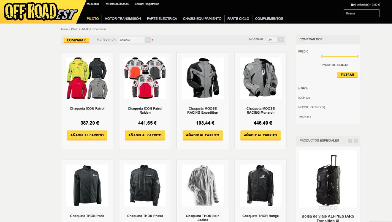 OffRoadEst.com, un portal web dedicado a la moto de campo