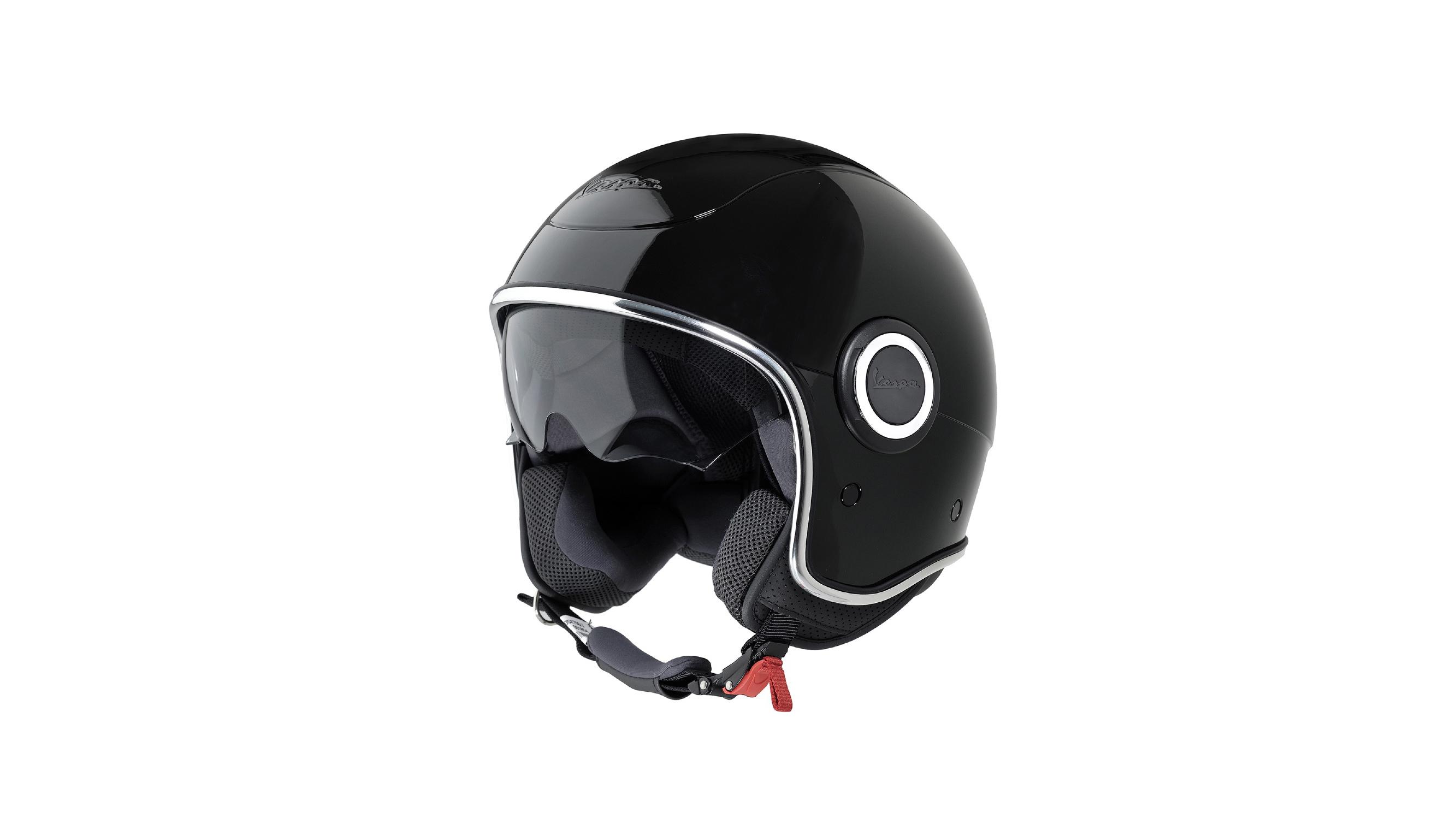 Seguros y a la moda con los cascos jet Vespa