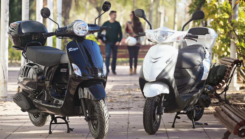 200 euros de descuento en la gama de motocicletas Riya