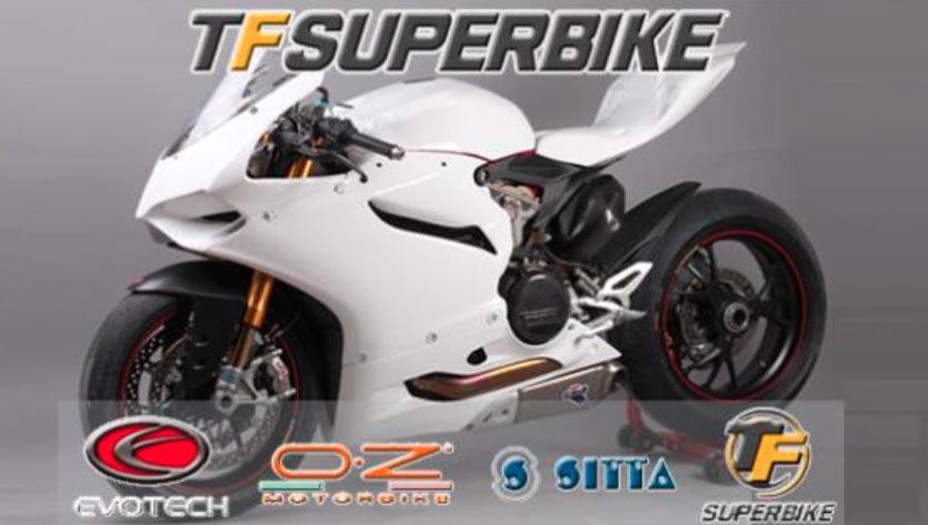 TF Superbike lanza las tarifas de precios de los productos Evotec, O.Z., Sitta y TF Superbike