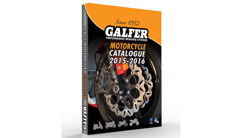 Galfer lanza el catálogo general de componentes de frenado para motocicletas y quads 2015-16