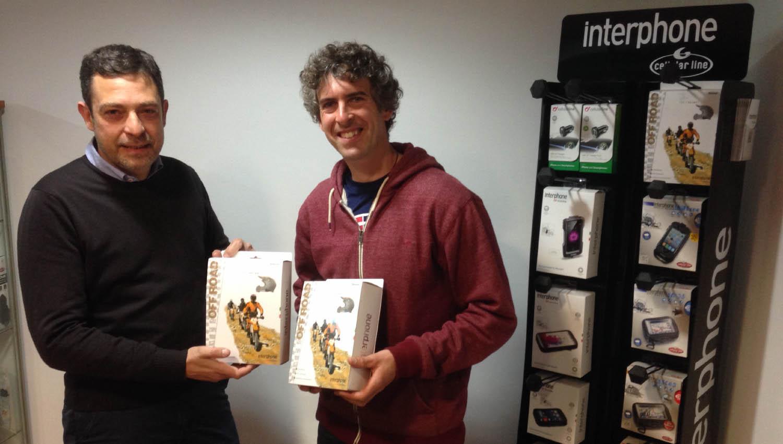 Ramon Brucart probará los productos Interphone para MotoTaller