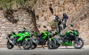 Contacto: Kawasaki Z 250SL, Ninja 250SL y Z 300