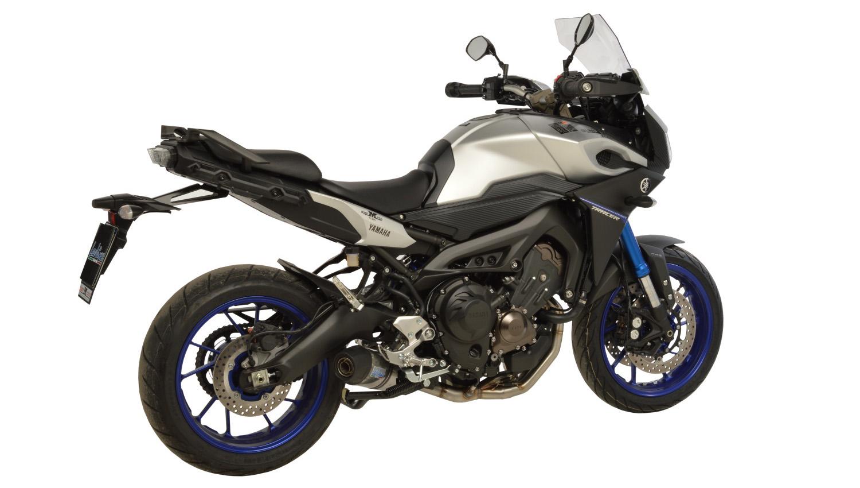 LeoVince lanza un sistema de escape completo para la Yamaha MT-09 Tracer 2015