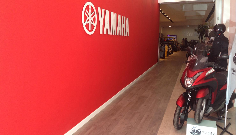 Yamaha Motor Madrid, el universo de la marca de los diapasones en pleno centro de la capital de España