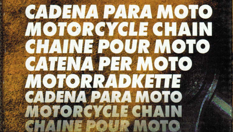 Iris Racing Chains presenta las cadenas X'Ring para motos de carretera y grandes rutas