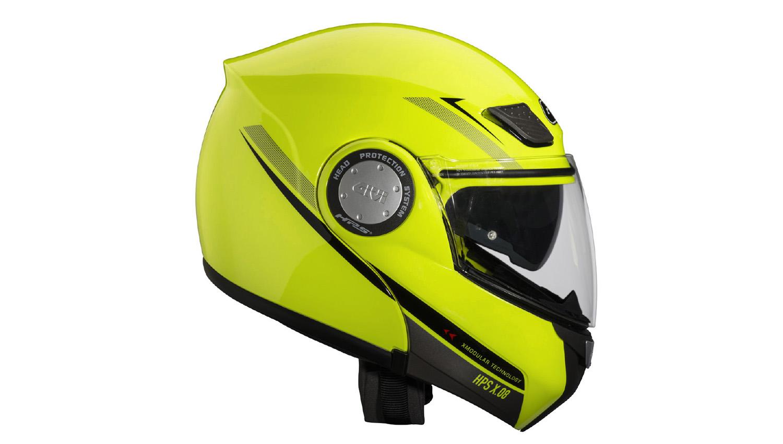Siempre visible con el casco X.08 Modular de Givi