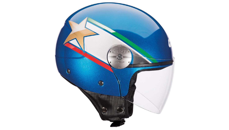 De todos los colores los renovados cascos abiertos de Givi