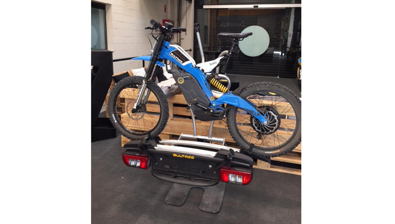 Portamotos TowCar para la nueva Bultaco Brinco
