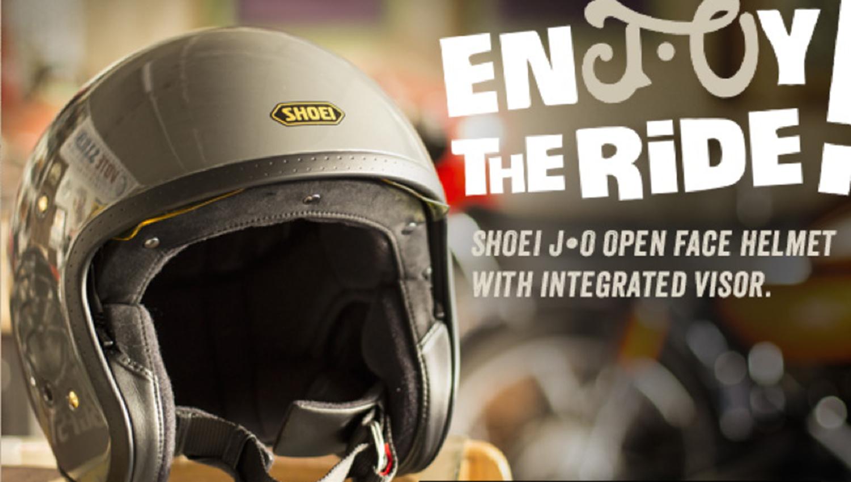 Un casco para los Cafe Racers y amantes del custom, el Shoei J·O