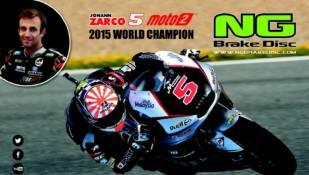 NG Brake Disc, partícipe del éxito de Johann Zarco