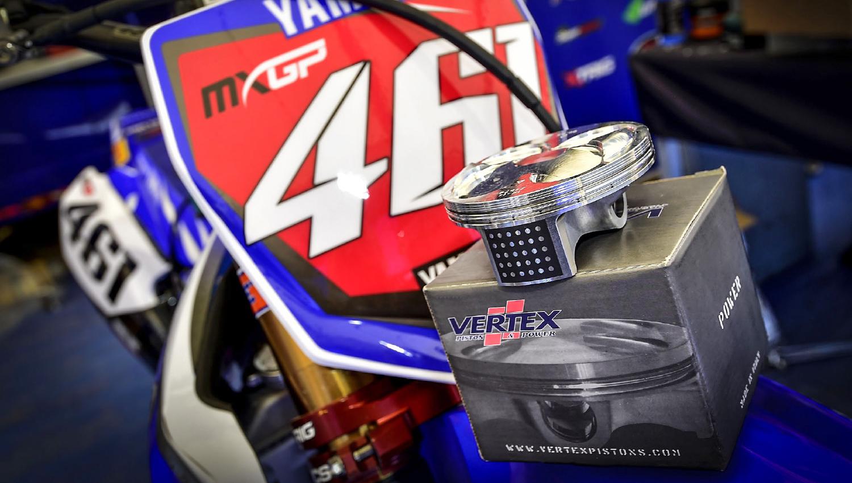 Los pistones Vertex, campeones en varios campeonatos de off road