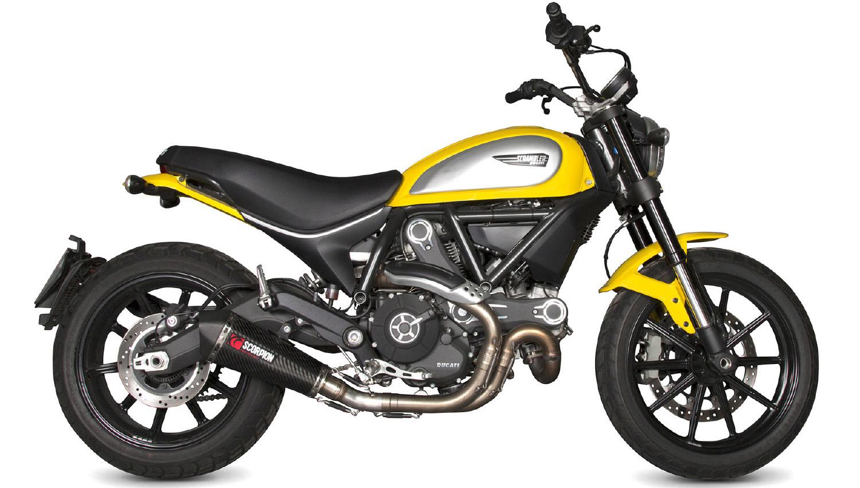 Vicma distribuye el nuevo escape Scorpion para la Ducati Scrambler