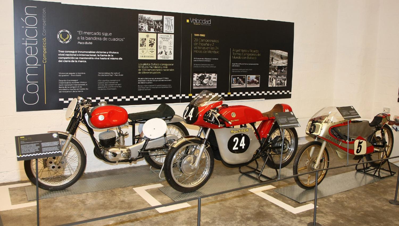 La exposición Bultaco en Barcelona, prorrogada hasta el 28 de febrero de 2016