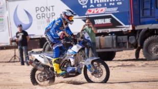 El equipo Pont Grup Yamaha, listo para el Dakar 2016