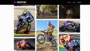 Mhotos.com fusiona las motos y la fotografía