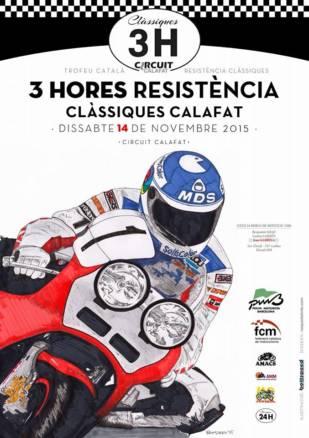 3H de resistencia de motos clásicas en Calafat