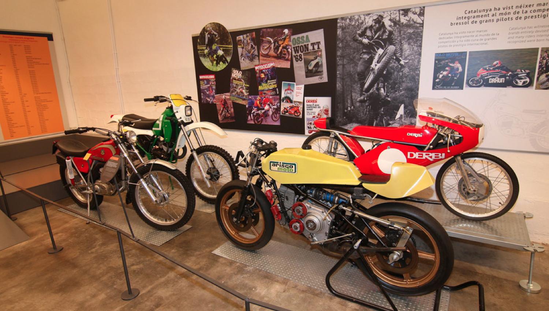 La Moto. Sociedad, industria y competición, la nueva exposición permanente en el Museo de la Moto de Barcelona