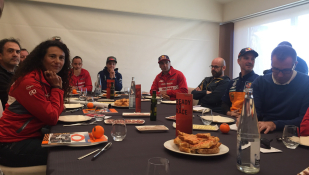 Desayuno Dakariano con KTM
