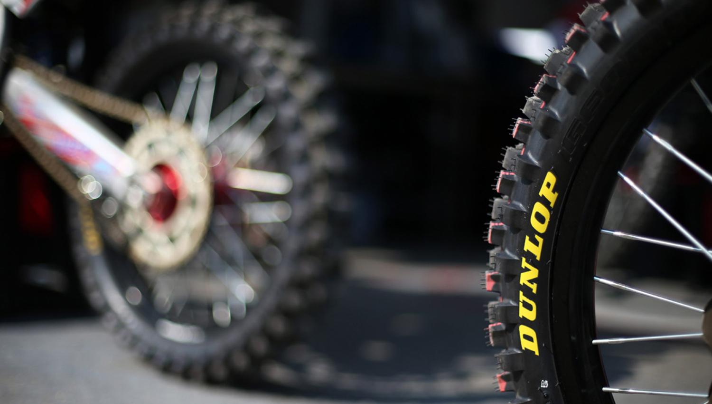 La gama de neumáticos de motocross Dunlop Geomax, ahora también en medidas de 18 pulgadas