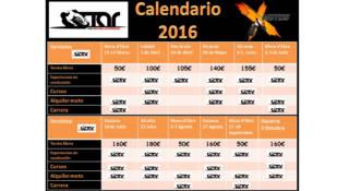 Todos a Rodar publica su calendario de actividades
