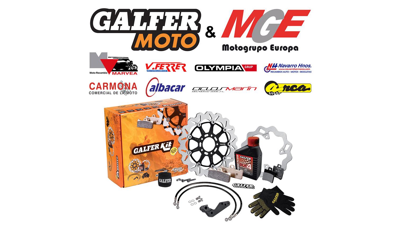 Galfer y MotoGrupo Europa renuevan su acuerdo comercial