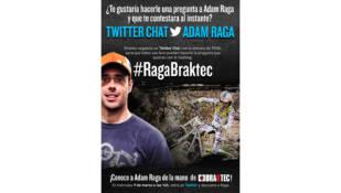 Twitter chat con Adam Raga de la mano de Braktec