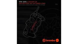 La temporada 2015 de Brembo en MotoGP, en un libro