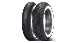 American Elite, el nuevo neumático para motos Touring y Cruiser americanas de Dunlop