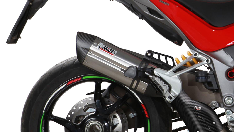 Escapes Mivv para la nueva Ducati Multistrada 1200