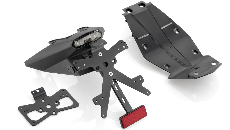 Kits de personalización Rizoma para las KTM 1290 R Super Duke y 390 Duke