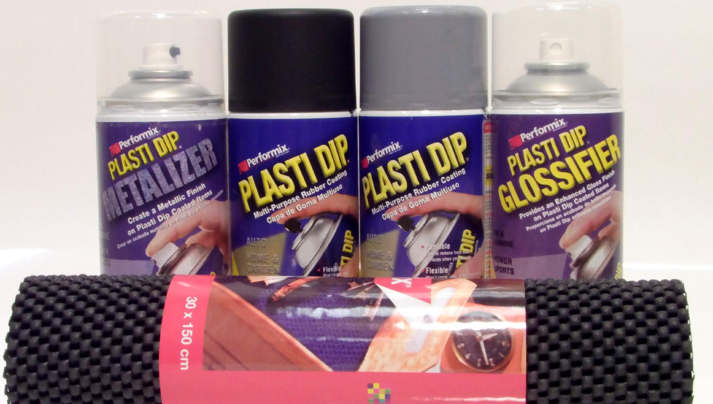 Plasti-Dip, ¿pintura líquida o sólida?