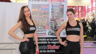 Las chicas de MotoMadrid 2016: galería de imágenes