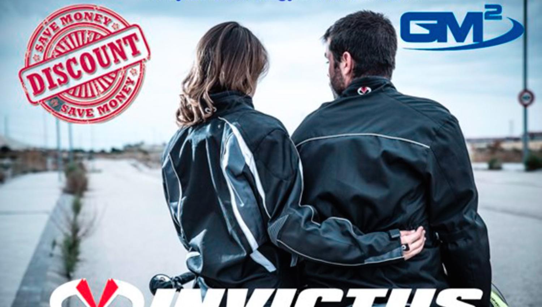GM2, de promoción con las chaquetas Invictus