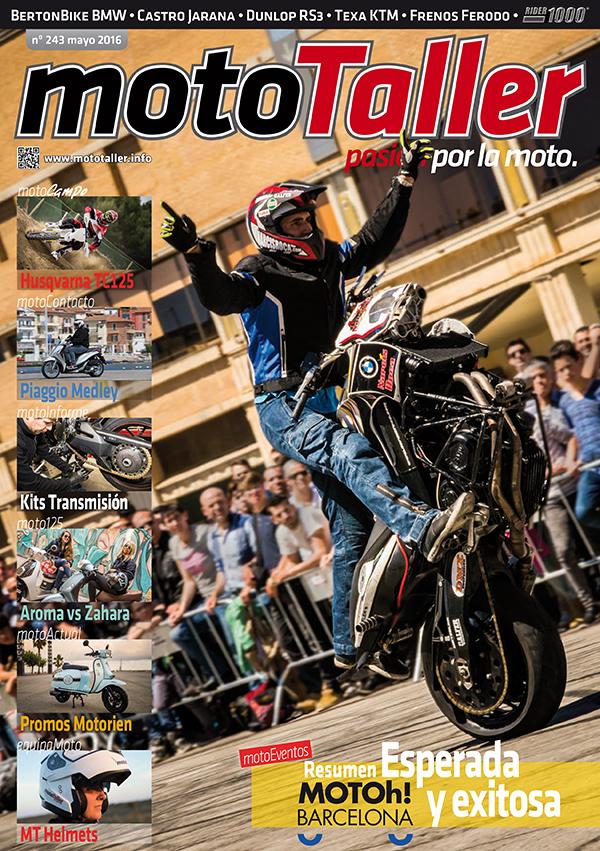 MotoTaller 243 – mayo 2016