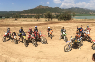 Enduro y motocross para niños en la Bassella OffRoad School