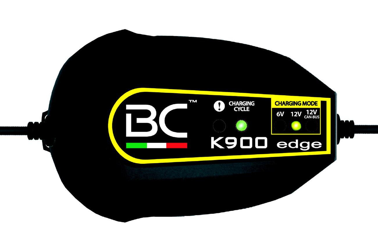 El cargador de baterías BC K900 Edge, más potente y compacto
