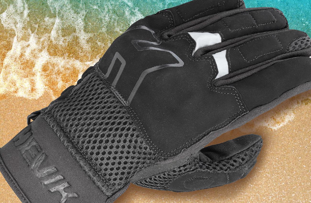 Protección sin calor con los nuevos guantes de verano Hevik