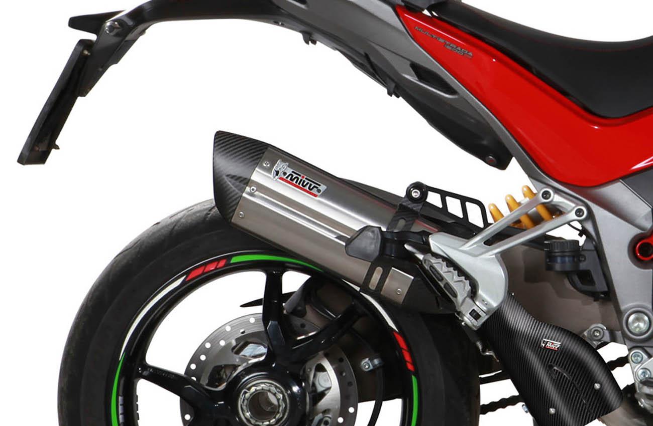 Escapes Mivv para la Ducati Multistrada 1200